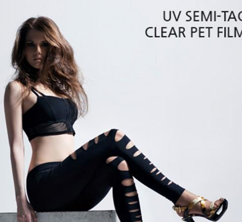 UV SEMI-TAC CLEAR PET FILM SR_USO850SR